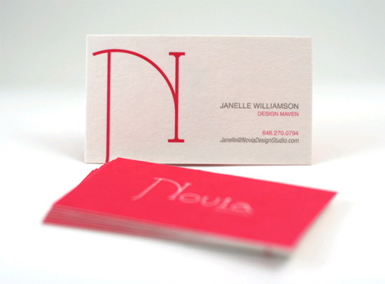 Custom Business Card – Janelle Williamson