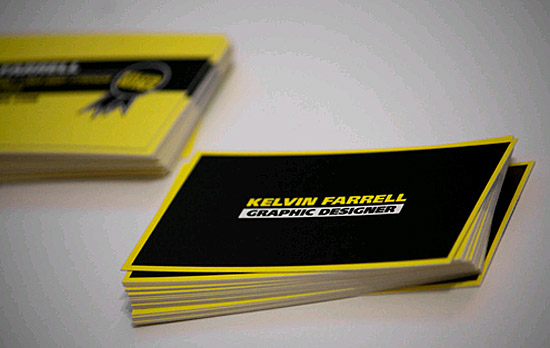 Custom Business Card – Kelvin Farrel