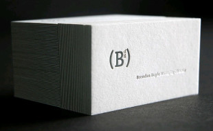Minimalistic Business Card - Brendan Boyle