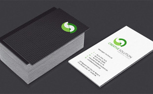 Cool Business Card Design - Creative Solution