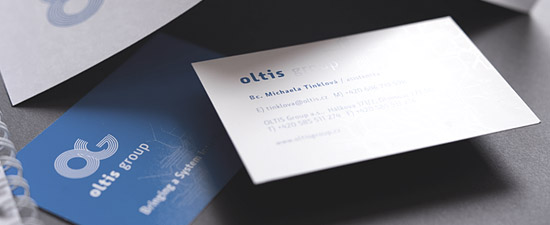 Cool Business Card - Oltis Group