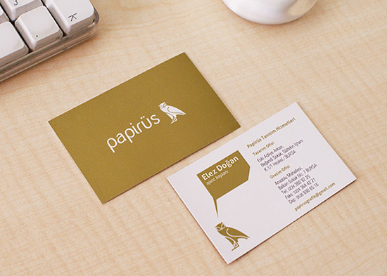 Custom Business Card - Papirus