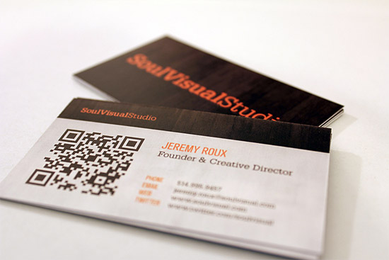 Custom Business Card – SoulVisualStudio
