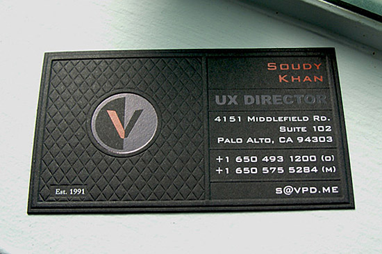 Custom Business Card – VPD