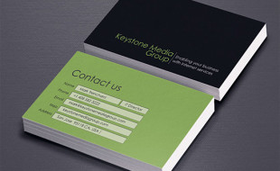 Simple Business Card - Keystone Media Group