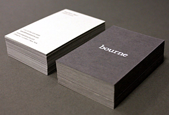 Cool Business Card - Bourne