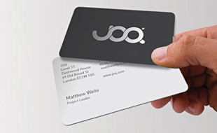 Cool Business Card Design - JOQ