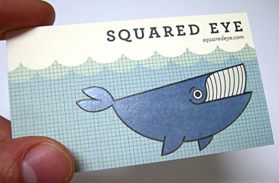 Cool Business Card - Squared Eye