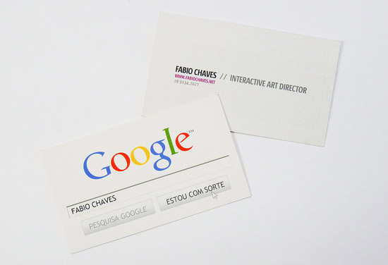 Cool google business cards fabio chaves cardrabbit cool google business cards fabio chaves colourmoves