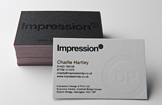 Cool letterpress business card impression dp cardrabbit cool letterpress business card impression dp colourmoves Gallery