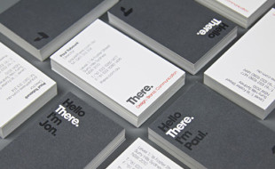 Cool Minimalistic Business Cards - There