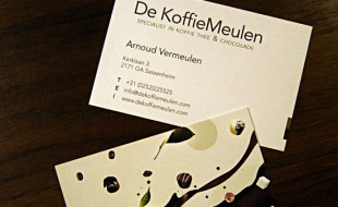 Creative Business Card - DeKoffieMeulen
