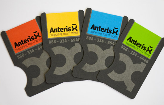 Unique Business Cards - Anteris