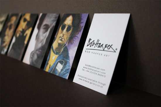 unique business cards bob harper
