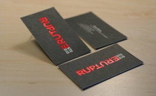 Cool Business Card – Rupture Studio