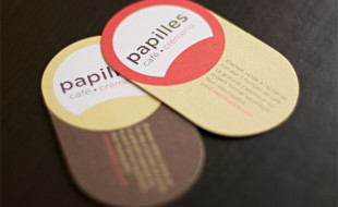 Creative Business Cards - Papilles