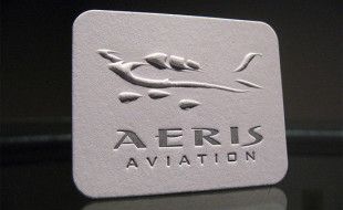 Unique Business Card - Aeris Aviation