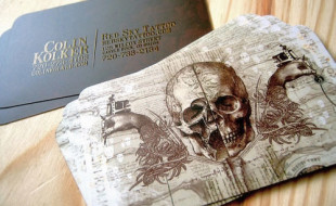 Amazing Business Card Design – Colin Kolker