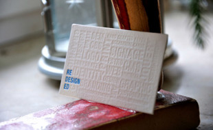 Gorgeous Letterpress Business Card - Redesigned