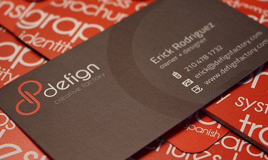 Cool Business Card - Defign Creative Factory