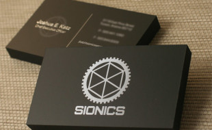 Cool Business Card – Sionics