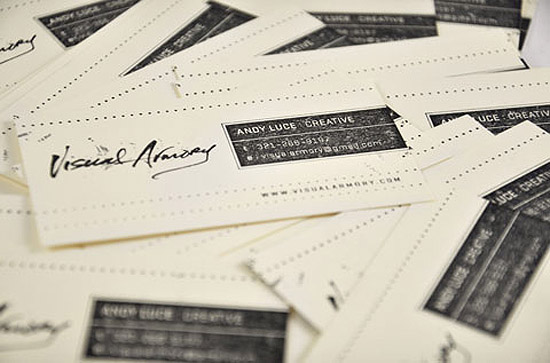 Cool hand stamped business card cardrabbit cool hand stamped business card colourmoves