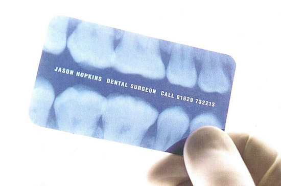 Unique business card for a dental surgeon cardrabbit unique business card for a dental surgeon colourmoves