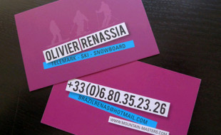 Cool Business Card – Olivier Renassi