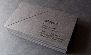 Cool Business Card – Pablo Alfieri