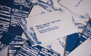 Creative Business Card – Marc Andre Gallien