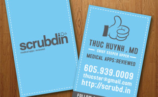 Custom Business Card Design - ScrubdIn