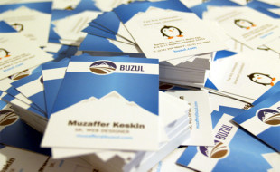 Cute Penguin Business Cards