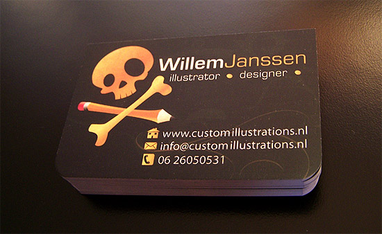 Funny Business Card - Willem Janssen
