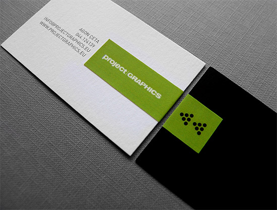 Minimalistic Business Card - Project Graphics