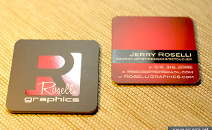 Square Business Card – Jerry Roselli
