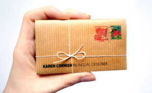 Unique Business Card – Karen Cornish