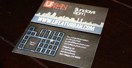 Cool Business Card - Urban