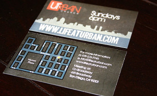 Cool Business Card – Urban