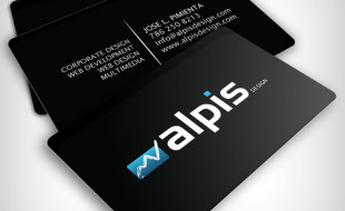 Cool Business Card Design- Alpis Design