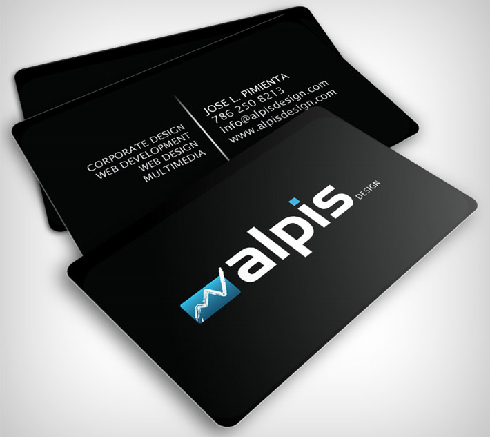 Cool Business Card Design Alpis Design