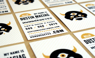 Cool Business Card – Dustin Maciag