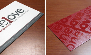 Cool Business Card – one1ove