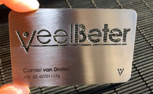 Cool Metal Business Card - Veel Beter