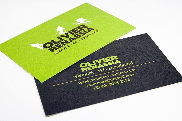 Custom Business Card – Olivier Renassia