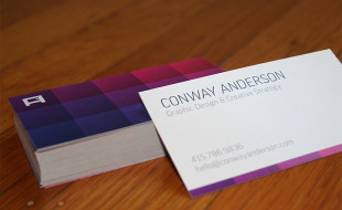 Cool Business Card – Conway Anderson