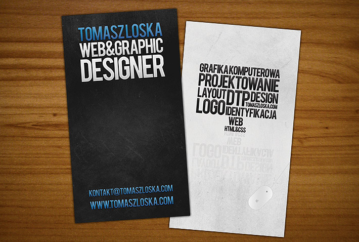 Cool business card design tomasz loska cardrabbit tweet colourmoves