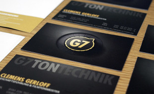 Cool Business Card – G7 TonTechnik