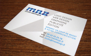 Creative Business Card – Maz Design