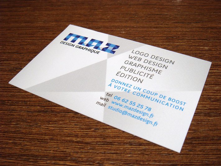Creative business card maz design cardrabbit inshare reheart Image collections