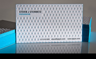 Cool Letterpress Business Cards – Steinmetz